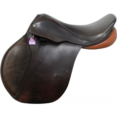 Second Hand Berney Bros Jump Saddle Brown 17.5 inch Medium