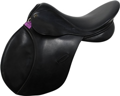Unbranded Second Hand Paul Jones GP Saddle Black 17.5 inch Medium Width