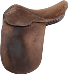 Unbranded Second Hand Flyde Show Saddle Brown 16 inch Medium