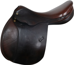 "Second Hand Heritage Jump Saddle Brown 18"" M"
