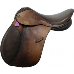 Unbranded Second Hand Ideal GP Saddle Brown 17 inch Medium