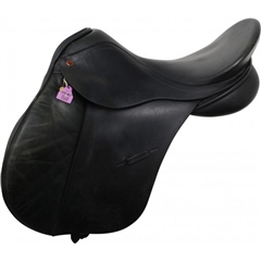 Unbranded Second Hand Albion GP Saddle Black 17.5 inch Medium width