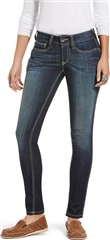 Ariat R.E.A.L. Mid Rise Stretch Outseam Ella Skinny Jean