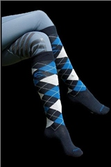 Acavallo Cotton Socks With Diamond