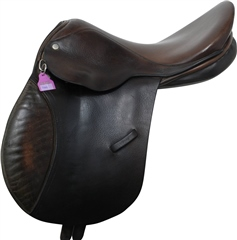 Unbranded Second Hand Berney GP Saddle Brown 15 inch Medium Wide