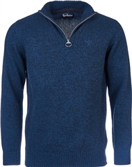 Barbour Men's Essential Lambswool Half Zip Sweater