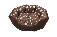 Companion Paw Print Dog Bed