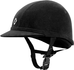 Charles Owen YR8 Junior Riding Hat- Round Skull