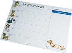 Charles Sainsbury A4 Weekly Planner