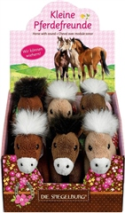 Busse Plush Neighing Horses