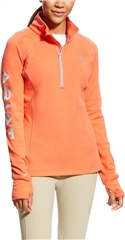 Ariat Ladies Tek Team Half Zip Top