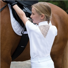Equetech Junior Bella Lace Competition Shirt