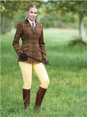 Equetech Marlow Deluxe Tweed Riding Jacket