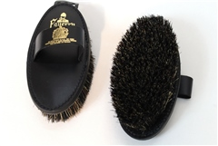 Equerry Leather Backed Mexican Fibre Mix Body Brush