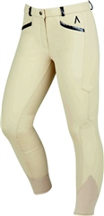 Dublin Black Linda Ladies Soft Shell Thermal Full Seat Breeches
