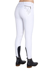 Montar Junior Bamboo Breeches with Silicone Knees