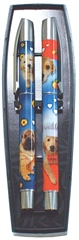 Grays Gifts Dog Roller Pen Set