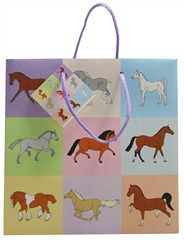 Grays Gifts Pastel Horse Gift Bag