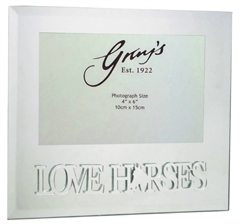 Grays Gifts Love Horse Photo Frame