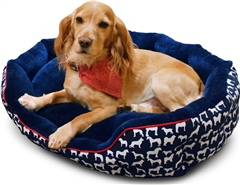 John Whitaker Stanbury Reversible Dog Bed