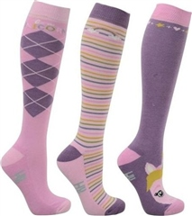 Hy Horse Wear HyFashion Little Unicorn Socks