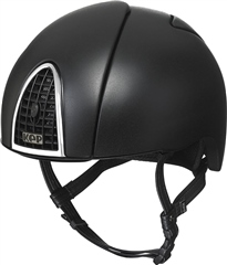 KEP Riding Hats Kep Cromo Jockey Skull Textured with Grid and Frame