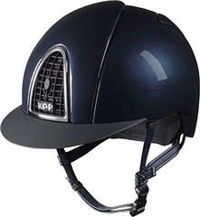 KEP Riding Hats Kep Cromo Shine Air Control Hat Polo Peak