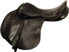 Second Hand Barnsby Schockemohle Jumping Saddle Black 17 inch Medium