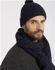 Joules Mens Blyth Pom Knitted Hat