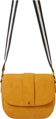 Joules Bridport Faux Leather Saddle Cross Body Bag