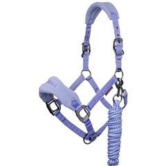 LeMieux Vogue Fleece Headcollar and Rope