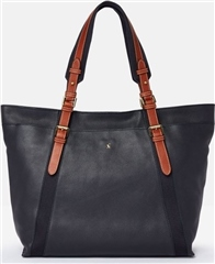 Joules Moreton Carriage Leather Large Tote Bag