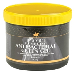 Lincoln Fly Repellent Antibacterial Green Gel