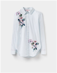Joules Laurel Embroidered Longline Shirt