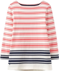 Joules Harbour Block Printed Jersey Top