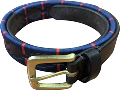 Old Mill Saddlery OMS Leather Polo Belt