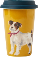 Joules Travel Mug with Silicone Lid
