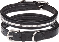 Old Mill Saddlery OMS Crystal Dog Collar