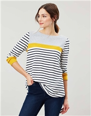 Joules Harbour Light Swing Long Sleeve Jersey Top