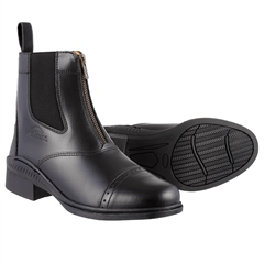Old Mill Saddlery Adults Zip Paddock Boot