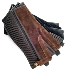 Old Mill Saddlery Adult Suede Half Chaps