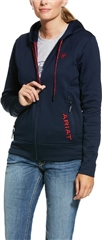 Ariat Women's Keats Full Zip Team Hoodie
