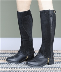 Moretta Adults Suede Half Chaps