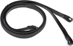 Old Mill Saddlery Large Pimple Rubber Loop End Racing Reins - Equus Grip