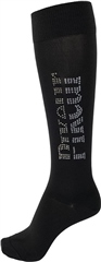 Pikeur Knee High Socks with  Application