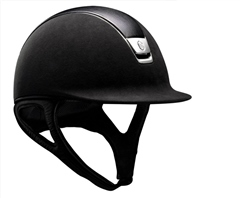 Samshield Premium Hat With Leather Top And Chrome Blason