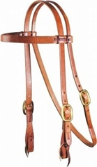 Professionals Choice Laced 3/4 inch Headstall