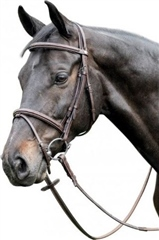 Prestige Italia Prestige Fancy Stitch Raised Bridle (E37)