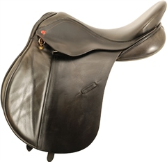 Second Hand Albion General Purpose Saddle Black 17.5 inch Medium Wide