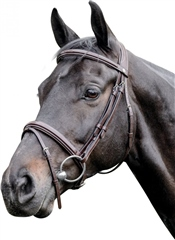 Prestige Italia E83 Prestige Leather Raised Bridle